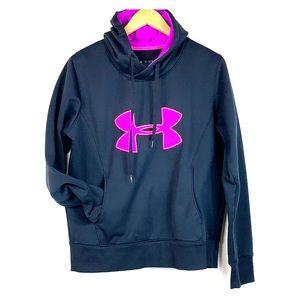 Under Armour cold gear warm hoodie sweatshirt EUC